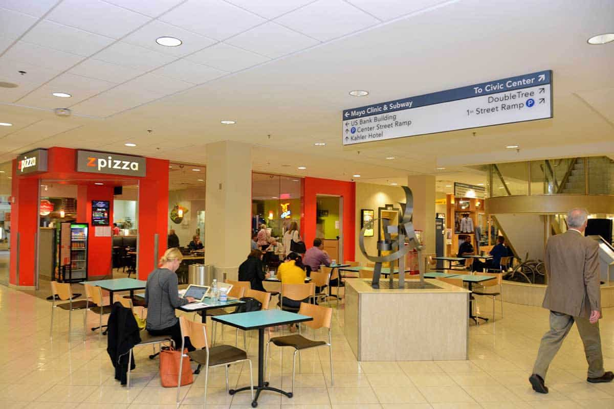 """Downtown Rochester Shopping & Eating at """"Shops at University Square"""""""