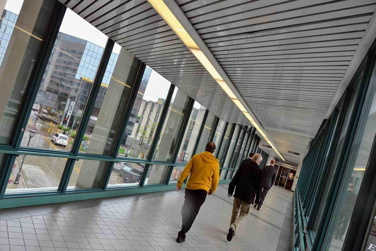 Downtown Rochester Skyway System