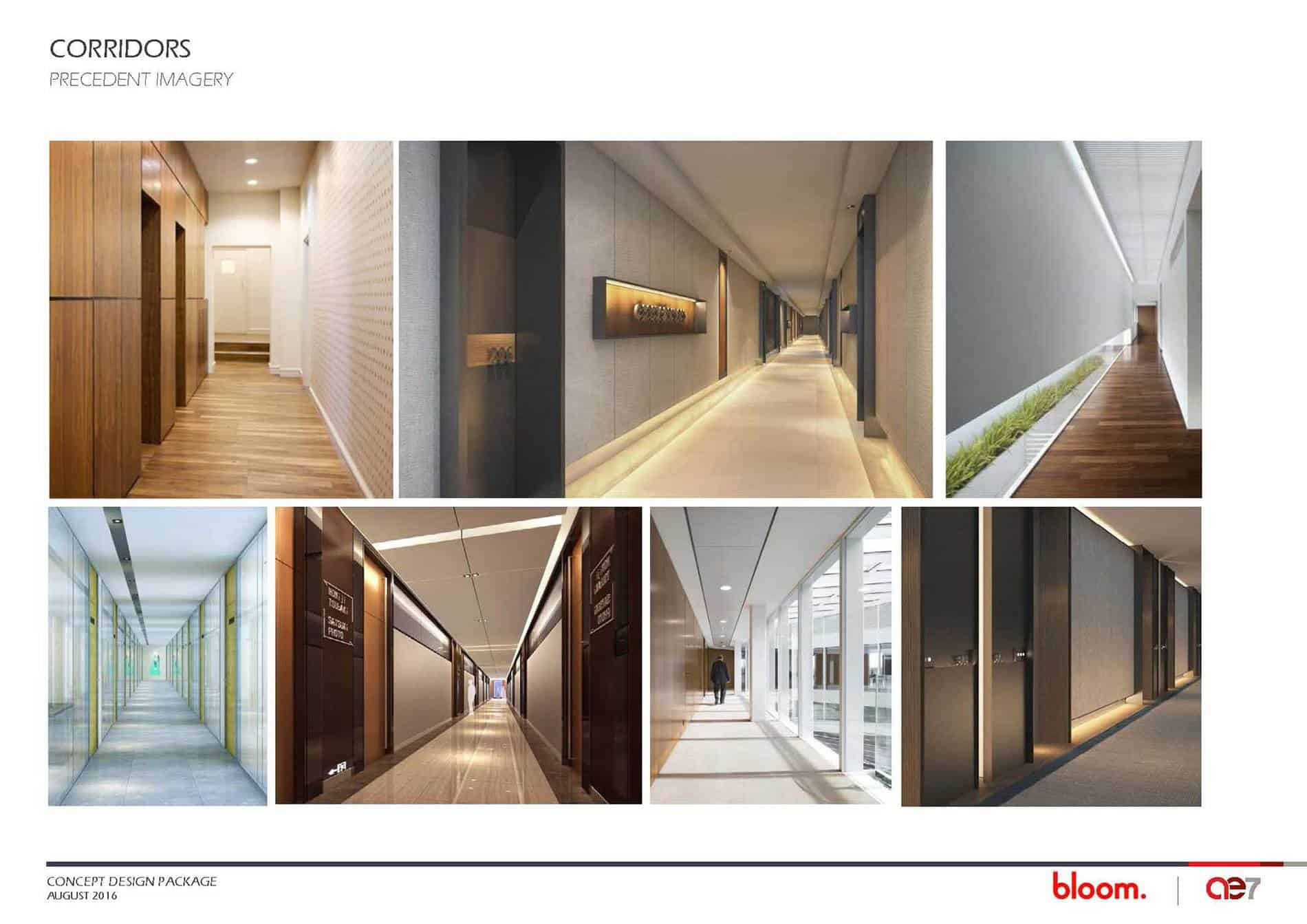 206 South Broadway Building Potential Corridors