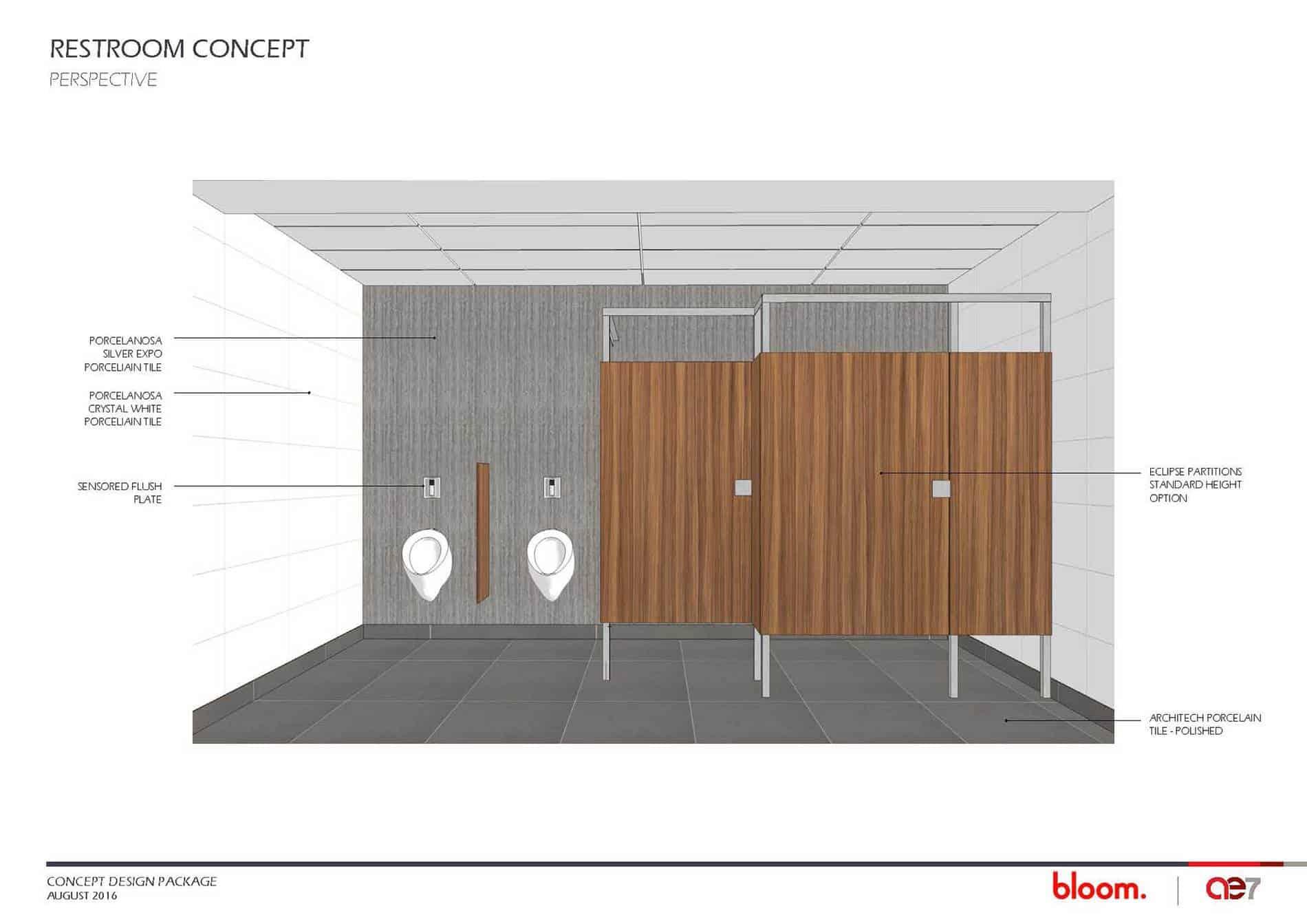 Restroom Concept Example