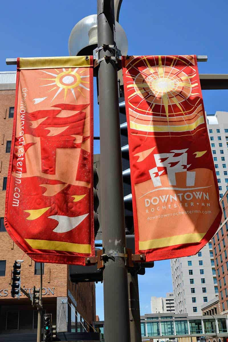 Downtown Rochester Banners