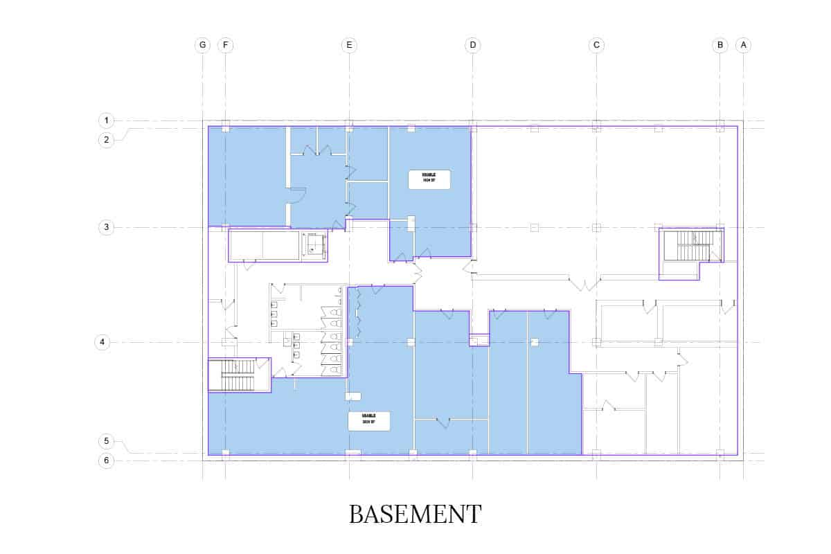 Building Area Floor Plans 1